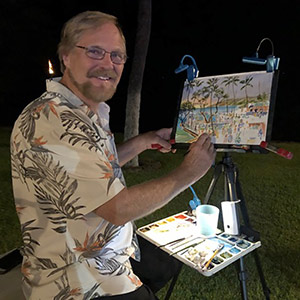 Jim Kingwell plein air painter
