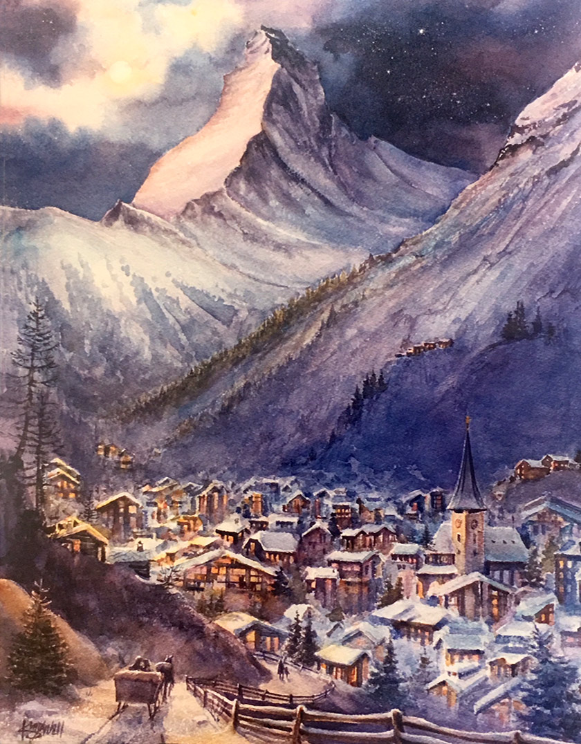 Jim Kingwell - Zermatt