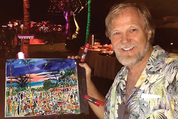 Jim Kingwell Maui Artist