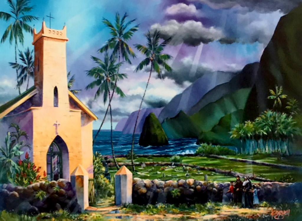 Father Damien's Church, Molokai