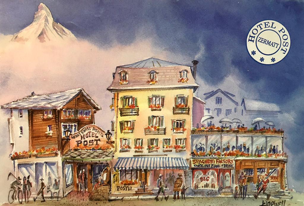 Hotel Post Zermatt